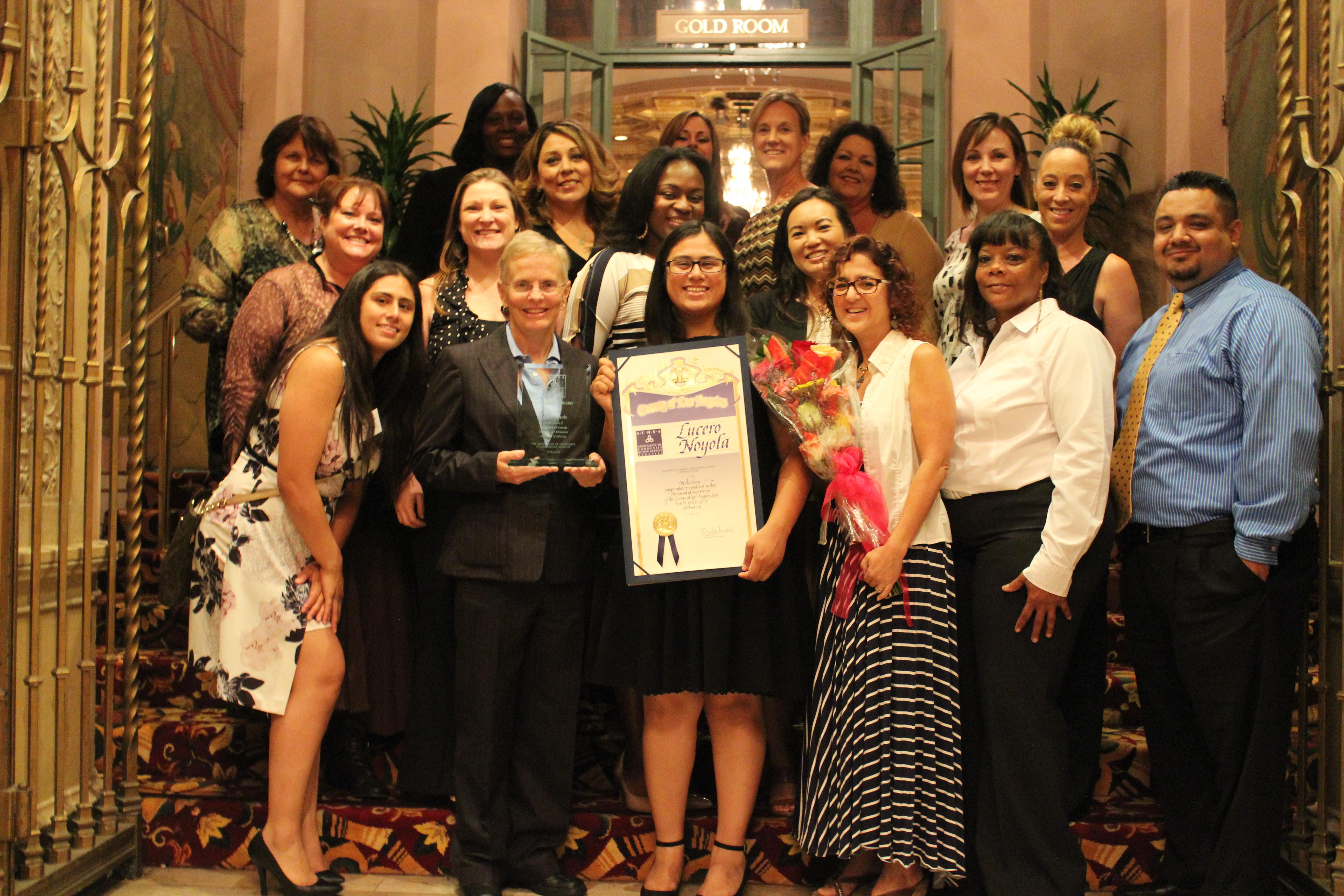 Team Crittenton at the 2015 Association of Community Human Service Agencies