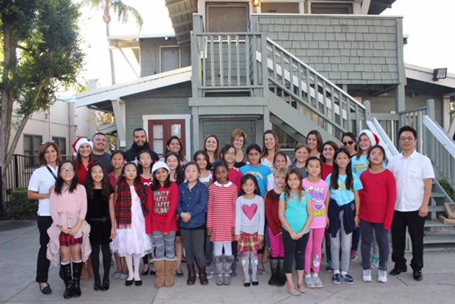 Laguna Road Choir Visits Crittenton